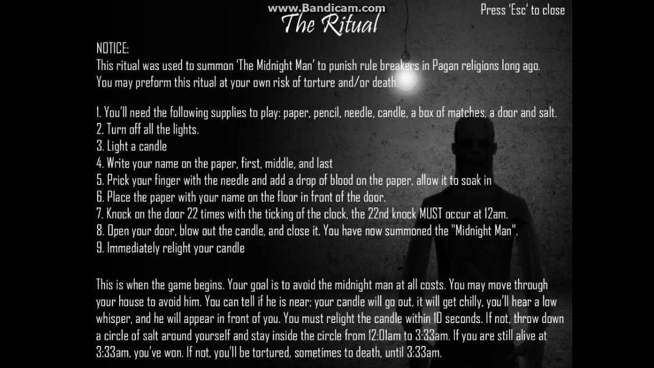 ผลการค้นหารูปภาพสำหรับ the midnight man game rules