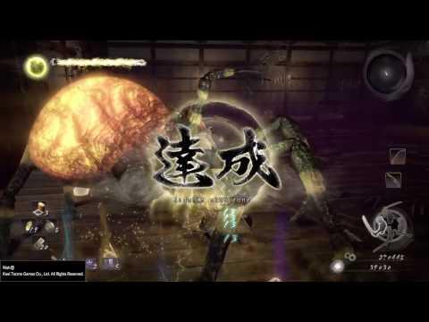 Nioh - How to easy kill Joro Gumo spider boss