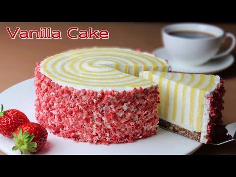 No Flour / Cup Measure / Moist Vanilla Cake Without Flour Recipe / Gluten Free Cake - Boone Bake분 베이크