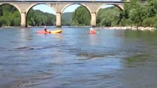 Entre Trébas les Bains et Villeneuve sur Tarn en canoë sur la rivière TARN - 18 Mai 2011