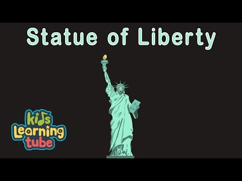 Statue of Liberty Song for Kids/Lady Liberty for Kids