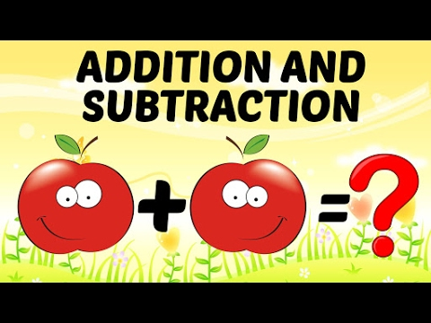 Basic Math For Kids Addition And Subtraction For Kids Preschool