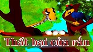 Thất bại của rắn - câu chuyện cổ tích hoạt hình phim - Truyện Cổ Tích Việt Nam - Phim hoạt hình