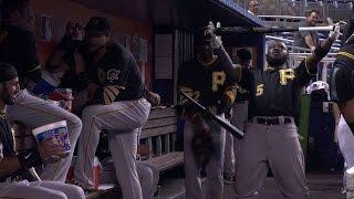 Pirates break out a pregame dance