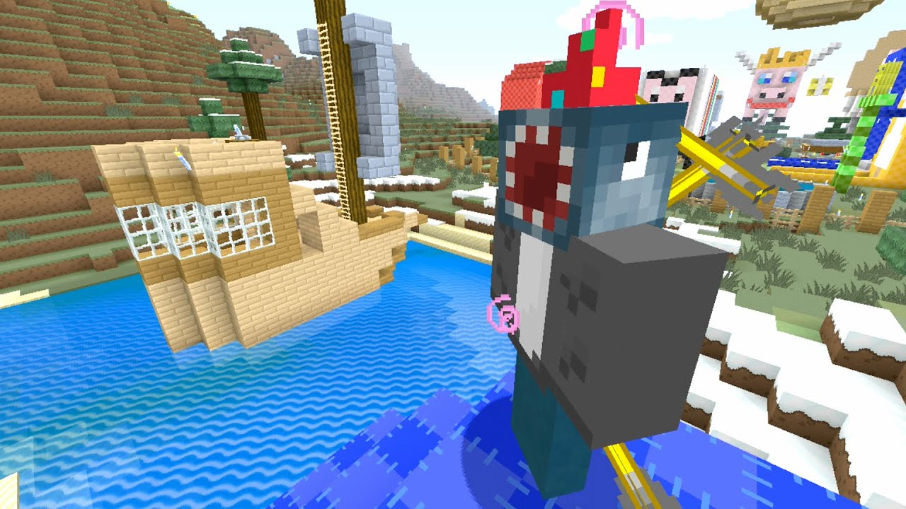 Stampy And Squid Adventure Map, Minecraft Xbox Quest To Shoot Squid In The Face With Arrows 127, Stampy And Squid Adventure Map