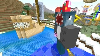 Minecraft Xbox - Quest To Shoot Squid In The Face With Arrows (127)