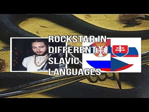 Post Malone - rockstar Slavic Edition [ RUSSIAN CZECH SERBIAN SLOVAKIAN ] (4K)