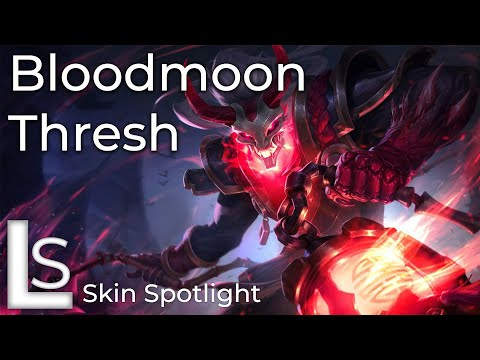 Blood Moon Thresh - Skin Spotlight - Blood Moon Collection - League of Legends