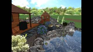 Extreme Pond and Waterfalls