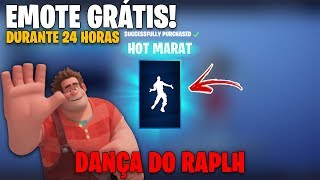 NEW FREE DANCE OF DETONA RALPH! AVAILABLE 24 HOURS-Fortnite | D4rant