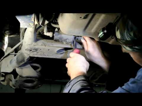 Chevrolet Aveo замена топливного фильтра