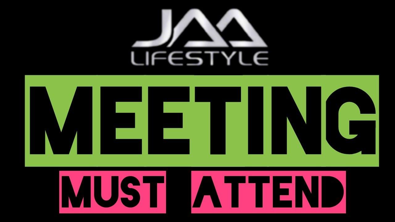 #jaalifestyle MEETING MUST ATTEND #appearning #eehhaaa