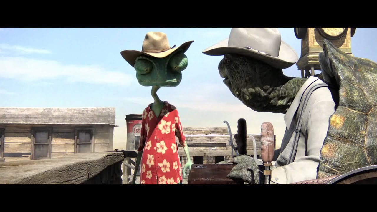 Download Rango   Trailer English Full-HD