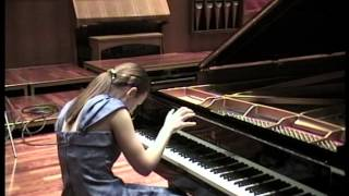 Anna Bulkina - Piano Solo Final 1/3 2011