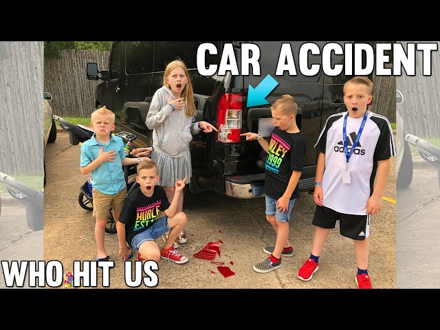 Who Hit Our Car?! + Feeding Sharks!! || Mommy Monday