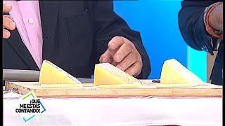 Cómo diferenciar un queso Idiazabal de un queso manchego