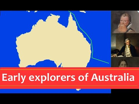 Early Explorers Of Australia   And New Zealand | Animated Map