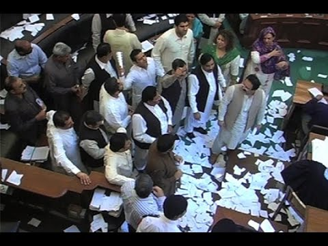 Dunya News-Punjab Assembly: Opposition protest continues for fourth day