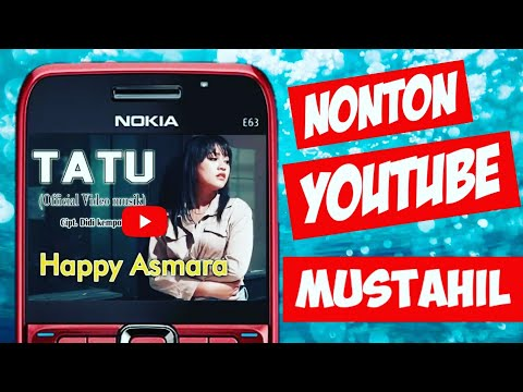 Symbian Os Nokia E63 | Cara Menonton Youtube Pakai Nokia || How To Watch Youtube Using Nokia E63