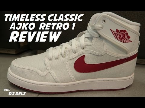 huge selection of f8f17 6dd6f Air Jordan 1 AJKO OG 'Timeless Canvas' Sneaker Review