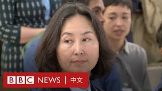 香港示威:何超瓊在聯合國會議批評暴力 稱每天活在害怕中- BBC News 中文