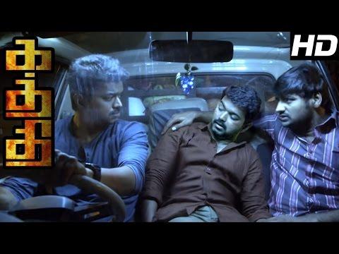 Kaththi   Kaththi Tamil Movie scenes   Vijay replaces another Vijay in old age Home   Vijay Movie