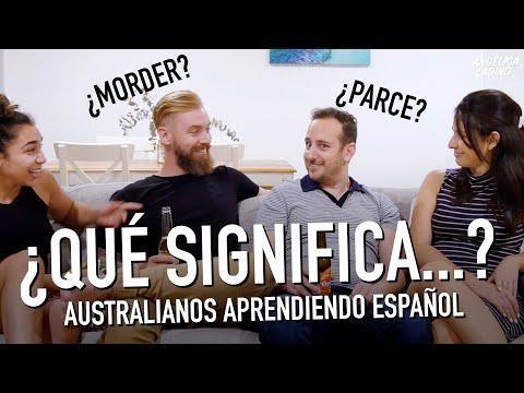 ¿Cómo Es El ESPAÑOL De Los AUSTRALIANOS?