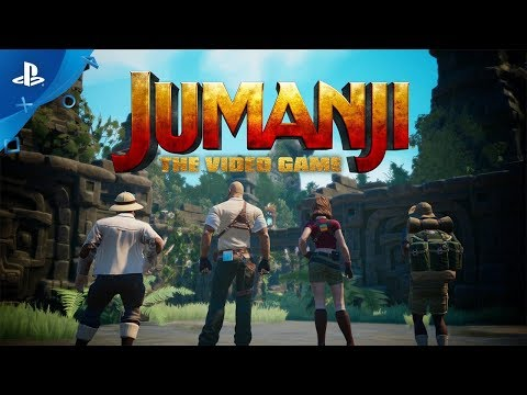 Jumanji: The Video Game – Announce Trailer | PS4