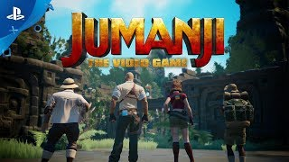 Jumanji: The Video Game - Announce Trailer | PS4