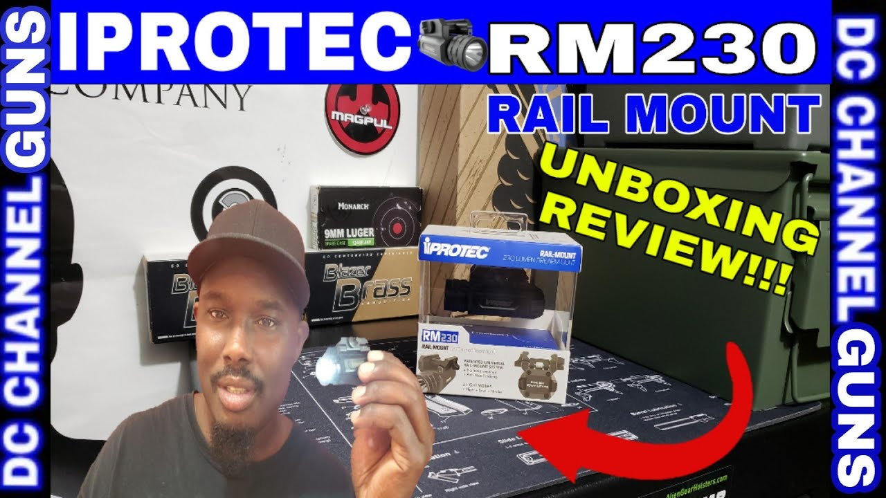 #Academy #Iprotect RM230 Lumens Firearm Light ( #UNBOXING REVIEW)   GUNS