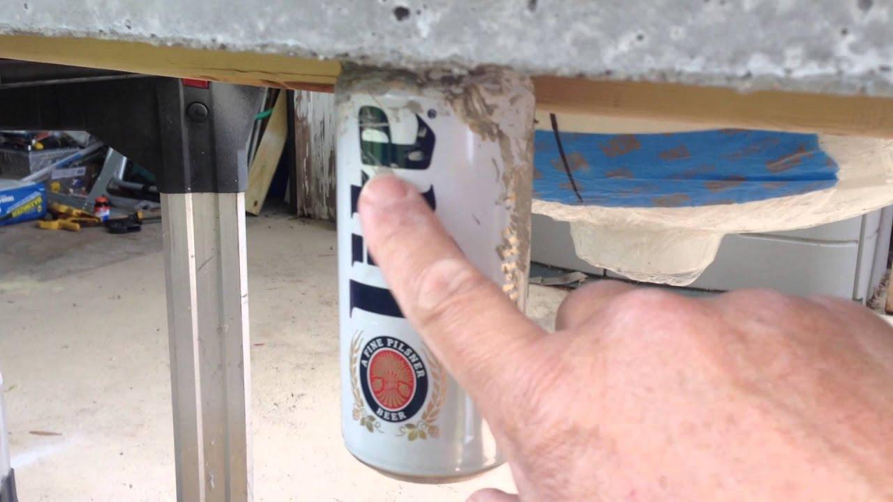 Concrete Countertop W/fiber Optics Embedded 10 Of 23