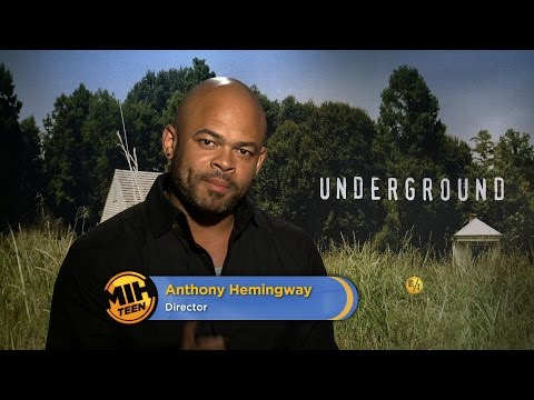 "Director Anthony Hemingway on ""Underground"""