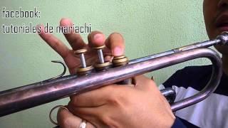 Como tocar el tirador en la trompeta