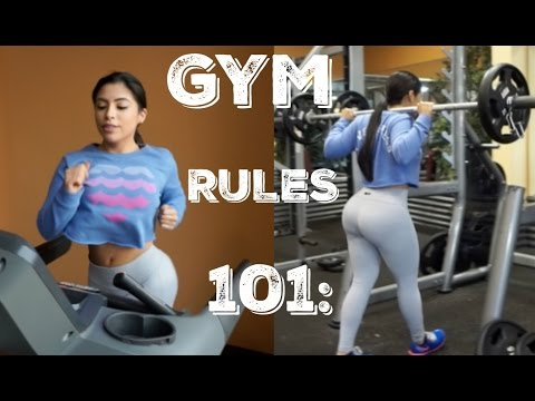 Gym Rules 101   Get Fit With Vice