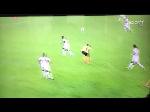 Philip Heise (Dynamo Dresden) 50 Meter Treffer gegen den VfB Stuttgart 12.07.2017