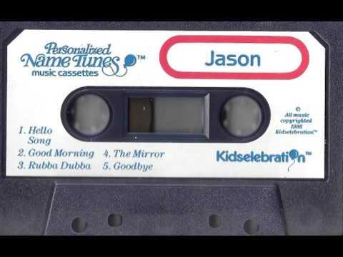 """Rubba-Dubba In The Bath"" - Kidselebration Personalized Name Tape (1986)"