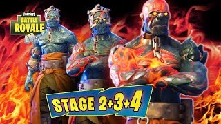 UNLOCK PRISONER Stage SKIN!! LOCATION FIRE KING KEY STAGE 1-4 Fortnite