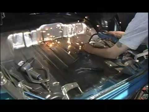 1971 Olds Quot S71 Quot Trunk Floor Amp Wheelhouses V8tv Video Youtube