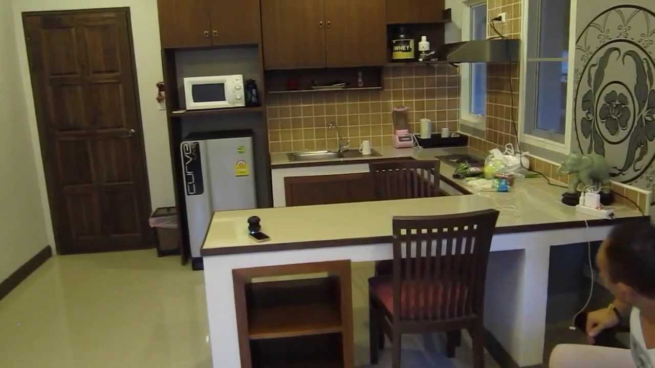 Kitchen Room Bedroom 1 Bedroom Apartment With Kitchen In Chiang Mai Thailand