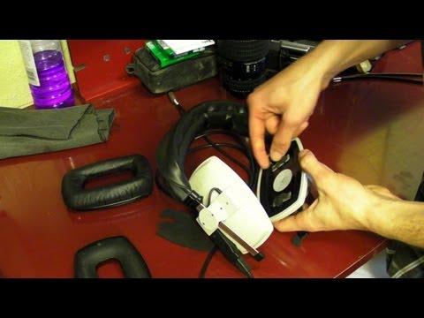 Replace Ear Cushions & Foam Inserts On DT 100 Beyerdynamic Headphones