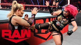 Charlotte Flair & Natalya vs. The Kabuki Warriors: Raw, Nov. 4, 2019