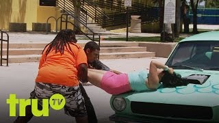 South Beach Tow - Surprise Haircut Saves A Life