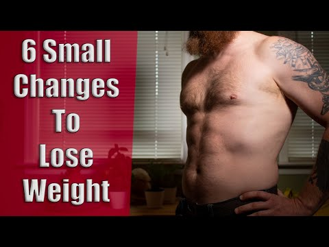 6 Small Changes To Lose Weight