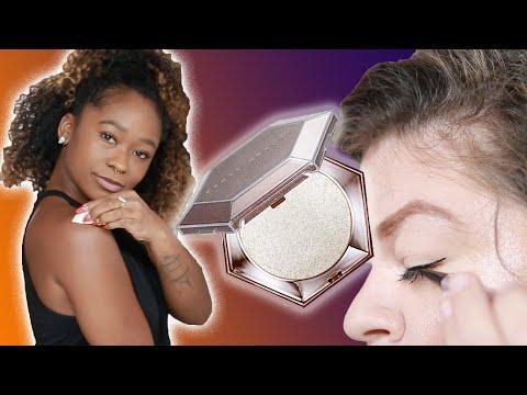 We Tried Rihannas Fenty Beauty Makeup • Ladylike
