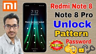 Redmi Note 8 8 Pro Unlock Pattern Password Hard Reset Redmi Note 8 Solve Activate This Device Youtube