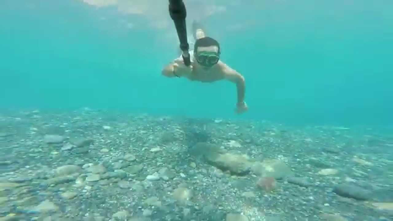 Al mare a Bergeggi Liguria GoPro 3  YouTube