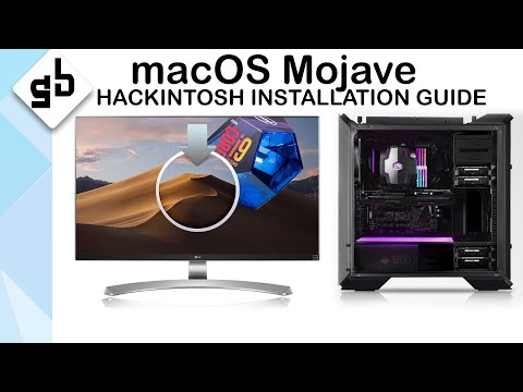 Simple Way To Install MacOS Mojave Hackintosh I9 - 9900K - Installation Guide - 2019