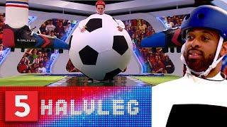 Kan du lade være med at grine? AGF - træner David Nielsen ER en kæmpefodbold | 5.Halvleg | Kanal 5