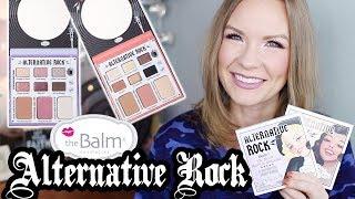 The Balm ALTERNATIVE ROCK Palettes! | LipglossLeslie