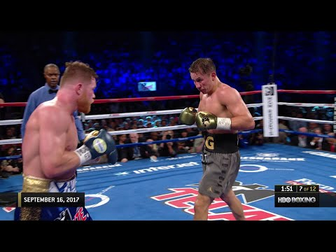 Classic Fight: Canelo vs. Golovkin 1